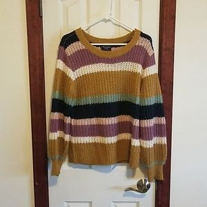 Striped Abercrombie and Fitch sweater